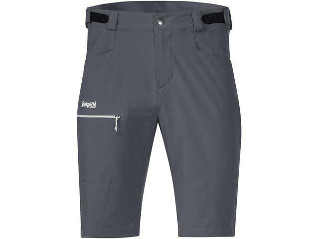 Bergans Slingsby LT Softshell Shorts Herren solid dark grey/sprout green
